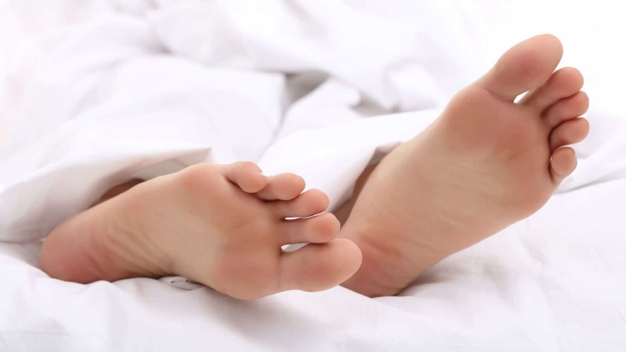 Reason You Should Sleep With Your Feet Outside The Blanket
