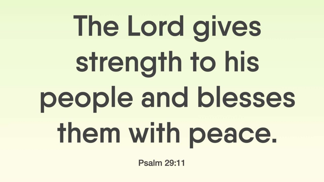 24 Bible Verses About Strength And Peace
