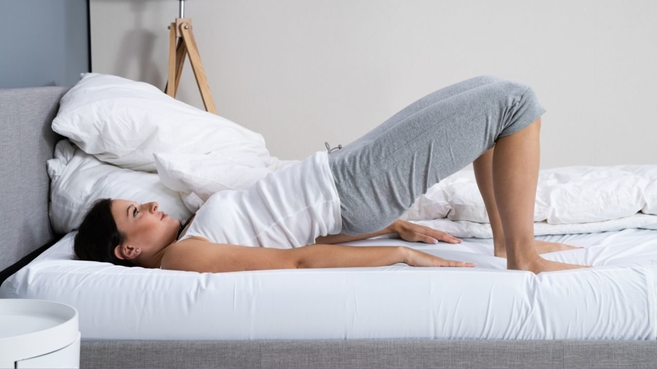 4 Exercises You Can Do Without Getting Out Of Bed