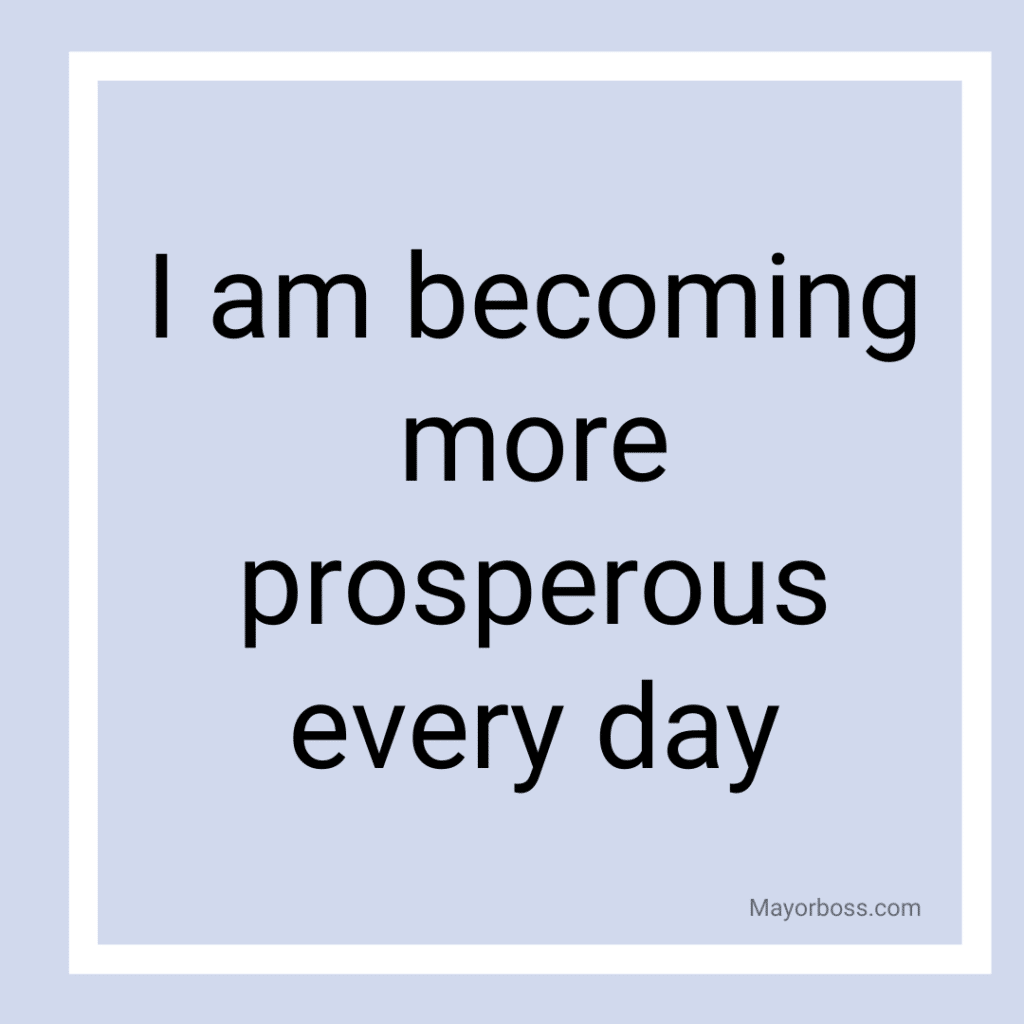 Powerful Affirmations to Help Attract Money 2