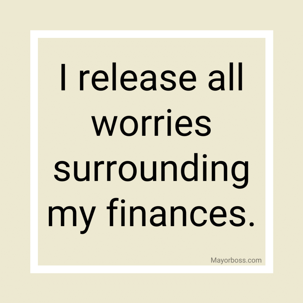 Powerful Affirmations to Help Attract Money 1