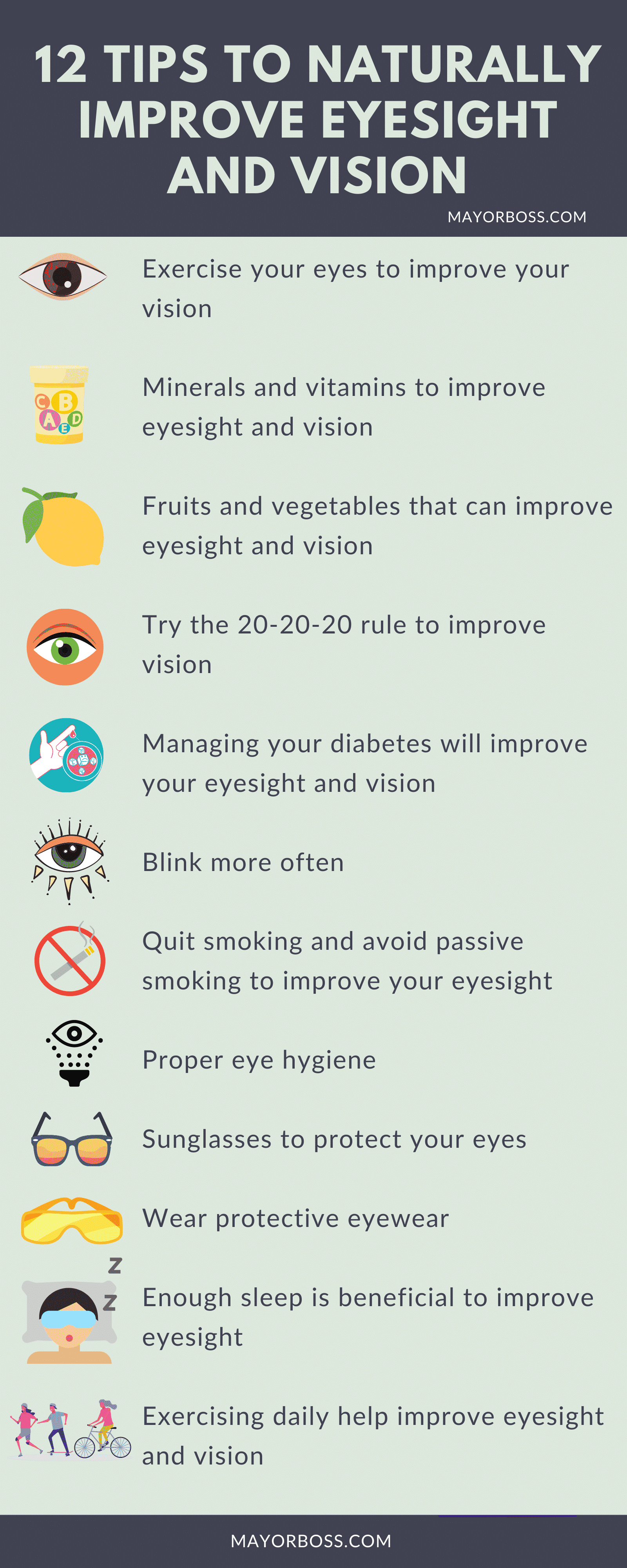 12 Tips To Naturally Improve Eyesight And Vision