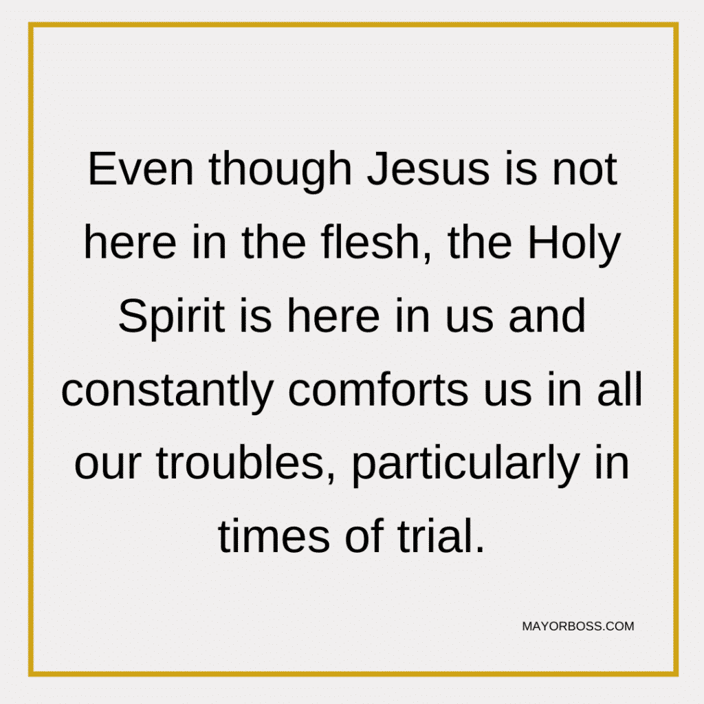 Holy Spirit Is Here In Us