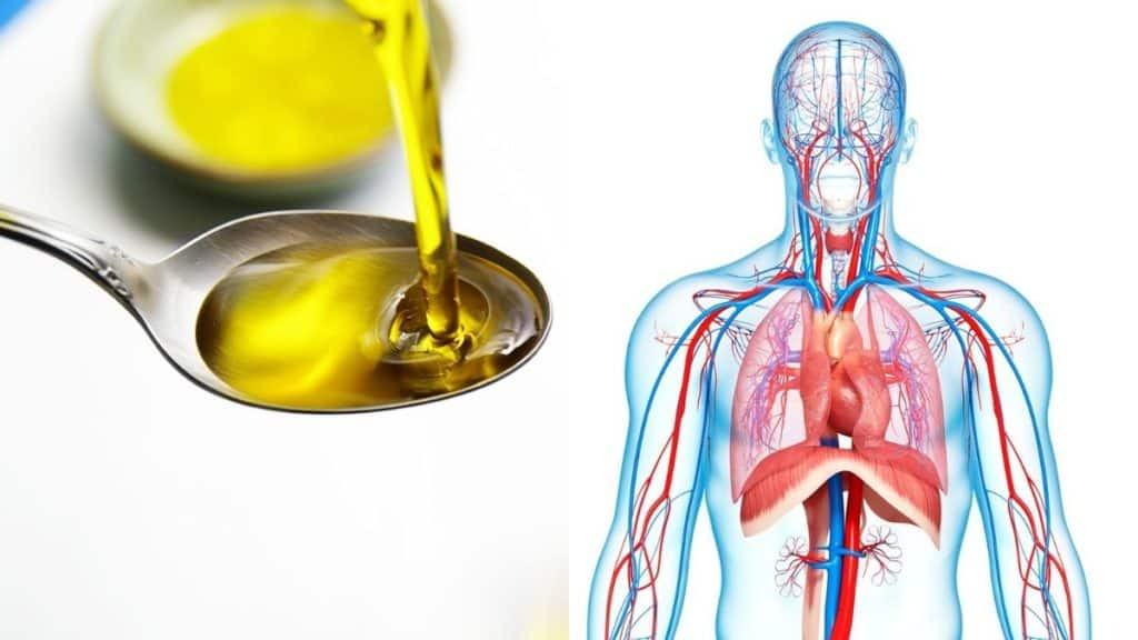 spoonful of olive oil