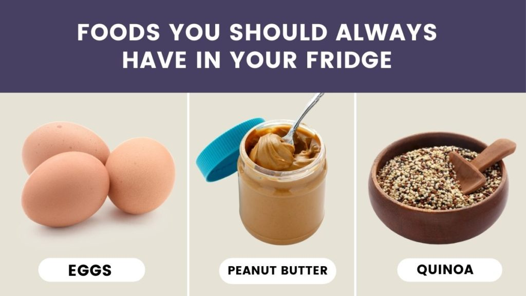 Lists of foods you should always have in your fridge