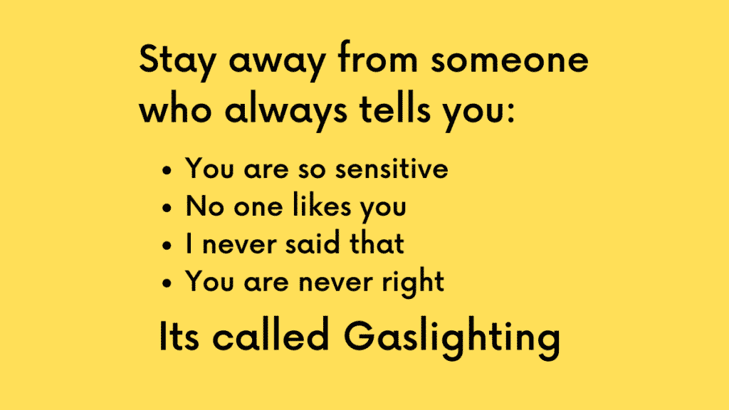 Warning signs of gaslighting never to ignore