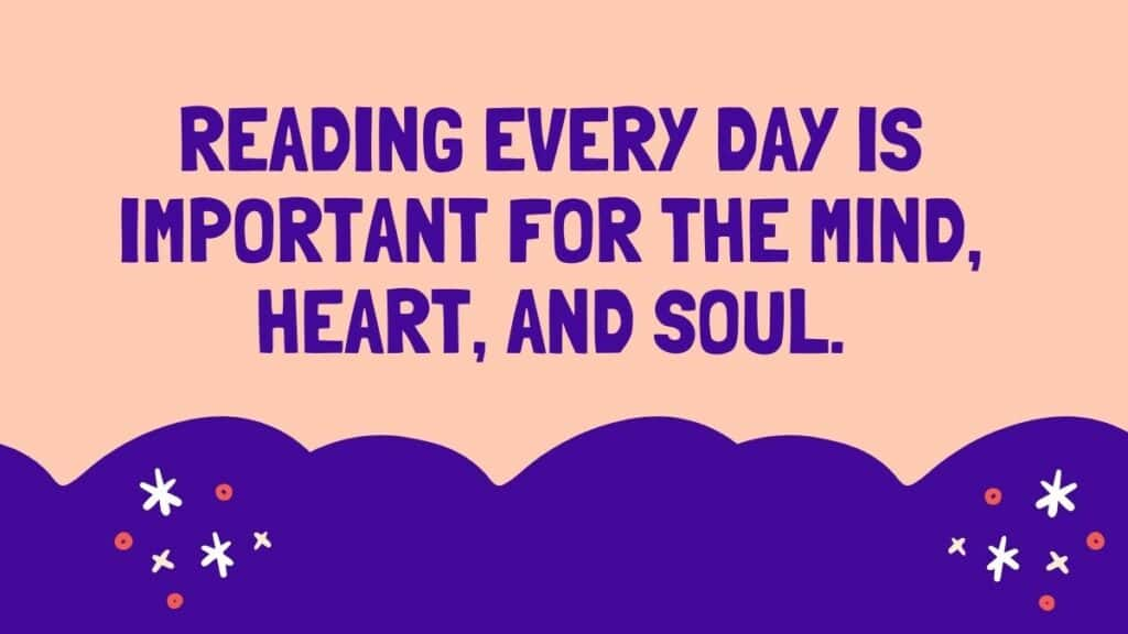 7 Reasons to start reading every day