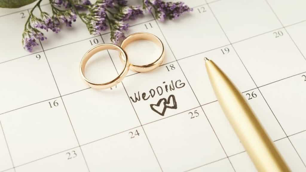 How to start planning a wedding